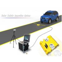 China 2048 Line CCD Mobile Under Vehicle Search Inspection System For Security on sale