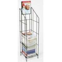 Quality Wire Magazine Display Racks For Gocery Stores with Chrome Plating wholesale
