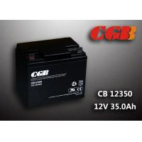 Quality Sealed AGM Lead Acid Battery 12V 35AH CB12350 Solar Wind Elcectricity Supply wholesale