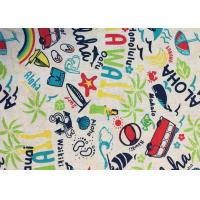 Quality Contemporary Novelty Print Fabric , Sportswear / Suit Printing On Cotton Fabric wholesale