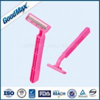 Cheap Close Shave Good Max Razor Pink Color For Sensitive Skin With Lubricant Strip for sale