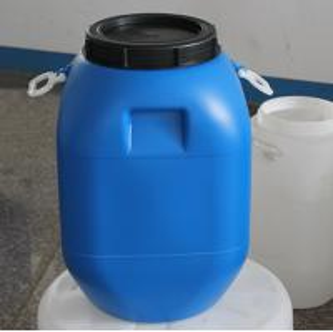Quality 50L virgin hdpe barrel drum bucket with plastic handles wholesale