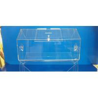 Quality Rotating Acrylic Lottery Drum Lucite Game Display Box Eco-Friendly wholesale