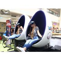 Quality Infinity 9D 720 Virtual Reality Equipment VR Egg Chair 2 Seats For Game Zone wholesale