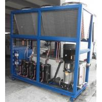 Buy cheap Plastic Industrial Air Cooled Processing Chillers With 52kw/h Cooing Capacity from wholesalers