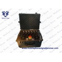 Buy cheap 8 Channels Bomb Signal Jammer , Suitcase Cell Phone Blocking Device For Police from wholesalers