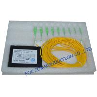 Quality Low Insertion Loss Plc Fiber Optic Splitter / Fttx Ftth Splitter Optical Fiber wholesale