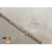 Cheap Brown Color Heavy Duty 1472 ℉ Fiberglass High Silica Fabric 0.7mm Thickness for sale