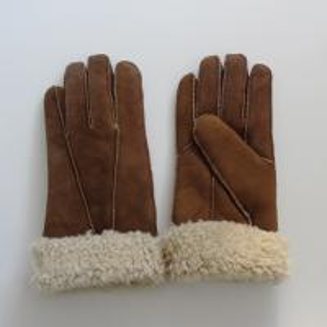 China Ladies Shearling Sheepskin Gloves Waterproof Sheepskin Gloves OEM / ODM on sale
