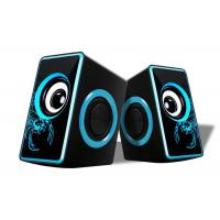 Quality Small Multimedia Computer Speakers , 2.0 Speakers For Pc Nice Design  wholesale
