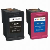 China Refill Ink Cartridge for HP 122 122XL, C/M/Y/LC/LY/LM, with Chip Pigment Ink on sale