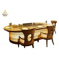Quality Custom Indoor Teppanyaki Grill Table , Commercial Hibachi Grill Equipment wholesale