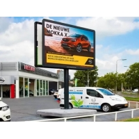 China 1600Hz Outdoor Advertising LED Displays , P10 Large Advertising Billboard on sale