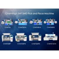 Quality Charmhigh SMD Pick and place Machine , smt placement machine 8 Models Prototyping wholesale