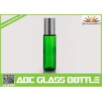 Cheap Made In China 10ml Green Glass Bottle,Essential Oil Bottle,Roll On Bottle With for sale