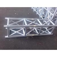 Quality Outdoor Party Aluminum Stage Truss Square Shape Silver / Black 400mm X 400mm wholesale