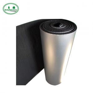 China Class B1 Closed Cell Foam Rubber 3MM Rubber Foam Heat Insulation Roll on sale