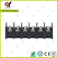 Quality 7.62mm Barrier Style Terminal Blocks with Wire Range 22AWG - 12 AWG wholesale