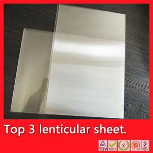 China 75 lpi 0.45mm PET lenticular sheet,lenticular,75 lpi lenticular printing,75 lpi lens, on sale