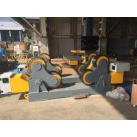 Buy cheap 80 Ton Loading Capacity Pipe Turning Rolls Vessel Diameter 850-500mm product