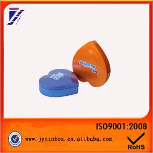 Quality Heart shaped metal tin can Metal tin box wholesale