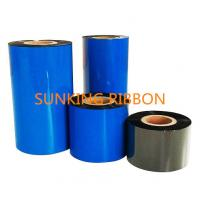 Quality Wax Resin Barcode ribbon/TTR wax resin thermal transfer ribbon 110mm * 300m for barcode machine wholesale