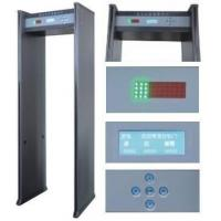 Quality ABNM600LCD 6 detection zones waterproof walk through metal detector with LCD display wholesale