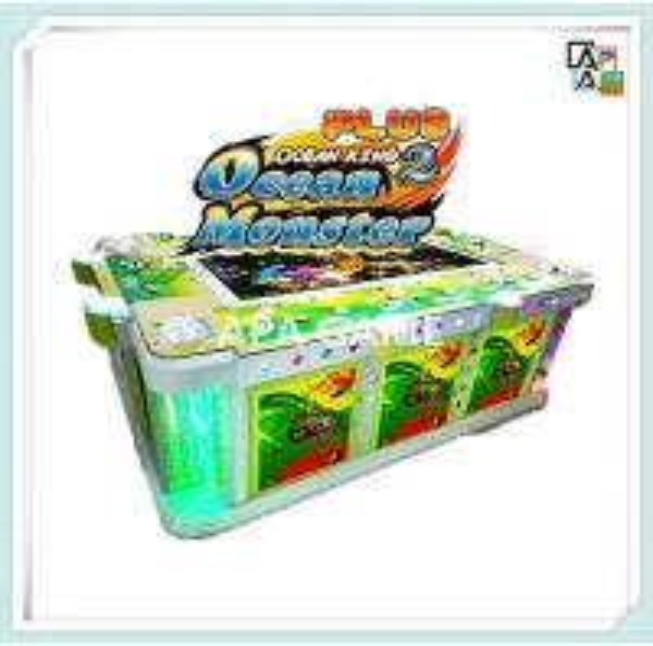 Cheap ocean monster plus fishing game machine hot sale for Fish game machine