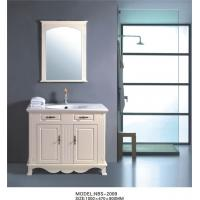 Cheap High end Traditional Bathroom Vanities Stainless steel soft hinges Ivory flush for sale