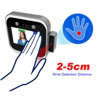 """Quality 5"""" LCD 3m 0.2S Face Recognition Attendance System 200W Pixel wholesale"""