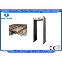 Quality Multiple Zones 6/12/18 Zones Wide Use Walk Through Metal Detector with Network Function wholesale