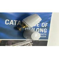 Quality OEM White Color Brass Water Fittings Water Adjuster Cap Plastic wholesale