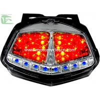 China LED Tail Lamp Color Motorcycle  Parts Red ABS Parking Lights KAWASAKI ER-6N on sale