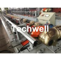 Quality 40mm, 60mm, 70mm, 80mm Octagon / Octagonal Pipe Roll Forming Machine With Fly Saw Cutting wholesale