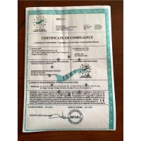 Taicang Yuyu Plastic Products Co., Ltd. Certifications