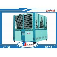 Quality 50 Ton Screw Type Industrial Air Cooled Screw Chiller Units With CE  Certification wholesale