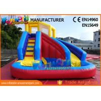 Quality Commercial Grade Backyard Inflatable Water Slide Bounce House For Children wholesale