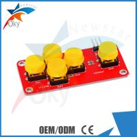 Quality Black + Yellow Arduino Bluetooth Module 5-Key Keyboard Module wholesale