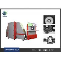 Cheap Alloy Wheels Industrial X Ray Machine , Real Time Defect Detection Systems UNC 160-Y2-D9 for sale