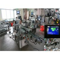 Quality Chile Brands Wine Bottle Labeling Machine , Beer Bottle Labeler 30-110 MM Width wholesale