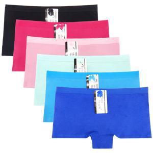 Quality Yun Meng Ni Sexy Underwear Cotton Boyshort Plain Color Women Panties wholesale
