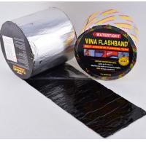 China self-adhesive bitumen flash, SGS/CE certification, Self-adhesive Rubber Bitumen flashing tape/flash band on sale