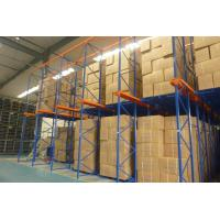 Buy cheap Steel Drive In Pallet Racking Industrial Storage Equipment 3 - 12 Pallets Depth from wholesalers