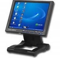 Quality Projected Touch Screen Computer Monitor , USB Touch Screen Industrial Monitor wholesale