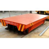 China Remote Control Electric Flat Car Easy Operation for Industrial Cement Transporting on sale