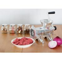 Quality Heavy Duty Manual Meat Grinder Machine Aluminum With Carbon Steel Knife #32 wholesale