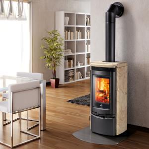 China GLK-CL18 wood burning fireplace on sale