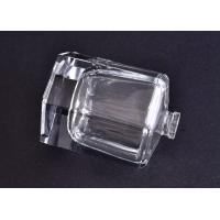 60ml Clear Glass Perfume Bottle with Sprayer in Hexagonal Shape