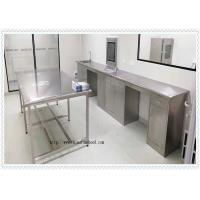 Quality Coating 304 Stainless Steel  Lab Furniture  / SS Work Table High Performance wholesale