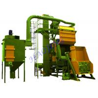 Buy cheap High Precision Shot Blasting Machine For Heat Treated Forgings product